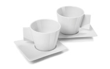 Cappuccino Mugs - set 2pcs