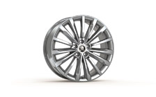 "TRINITY 19"" alloy wheel in highly polished design"
