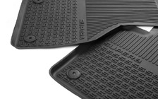 Front rubber foot mats SUPERB III