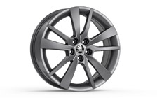 "Alloy wheel TRIUS 17"" for FABIA III and RAPID"