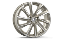 "Alloy wheel STRATOS 17"" for SCALA"