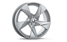 "Alloy wheel VOLANS 17"" for SCALA, KAMIQ"