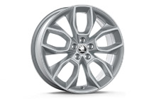 "Alloy wheel CRATER 18"" for SCALA, KAMIQ"