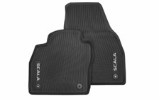All-weather interior mats SCALA - front