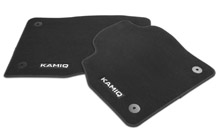 Textile foot mats Standard for KAMIQ