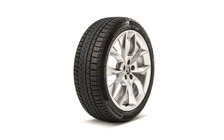 "Complete winter alloy wheel CRATER 18"" for KAMIQ"