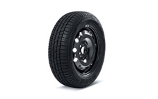 "Complete winter steel wheel 16"" for SUPERB III"
