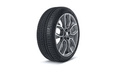 "Complete winter alloy wheel CRATER 19"" for KAROQ"