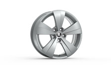 "Alloy wheel HELIOS 17"" for SUPERB III"