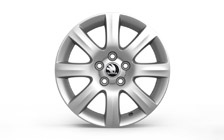 "Alloy wheel LINE 15"" for ROOMSTER, FABIA II"