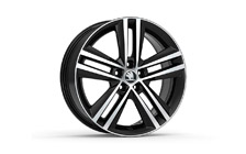 "Alloy wheel RAY 17"" for FABIA III and RAPID"