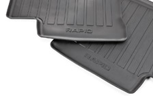 Rubber foot mats for RAPID