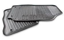 Set of rubber mats - front for FABIA I
